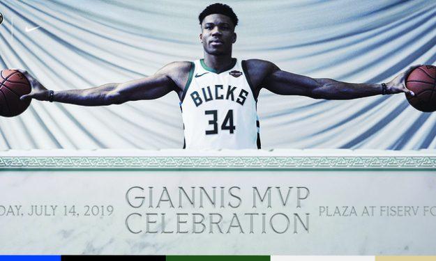 Μπακς: Ετοιμάζουν μεγάλη γιορτή στο Μιλγουόκι για τον MVP Γιάννη!