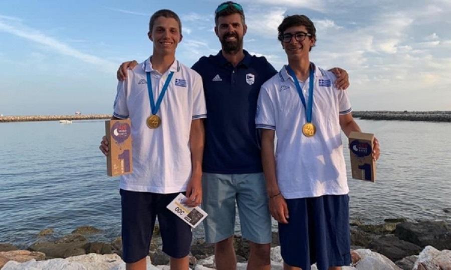 Χρυσοί οι Σπανάκης -Μιχαλόπουλος, χάλκινες οι Παππά -Τσαμοπούλου στο Παγκόσμιο  420