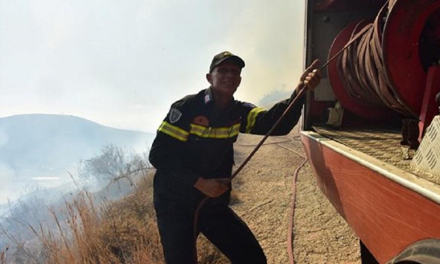 Νέα πυρκαγιά στην Κεφαλονιά - Περιορίζεται η φωτιά στον Ασπρόπυργο