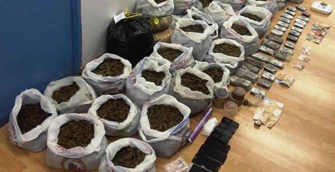 Ηγουμενίτσα: Μπλόκο σε 102 κιλά χασίς ύστερα από αστυνομική επιχείρηση