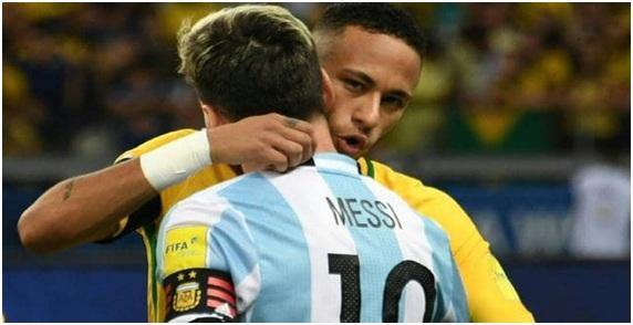 Μέσι, κοίτα την Βραζιλία και κρίνε...
