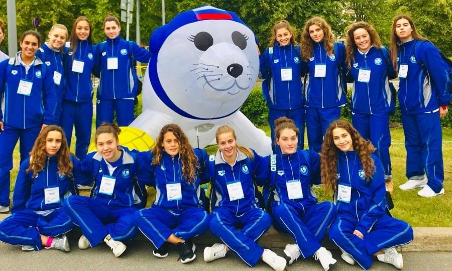 Χάλκινες οι Κορασίδες στο Ευρωπαϊκό πρωτάθλημα πόλο!