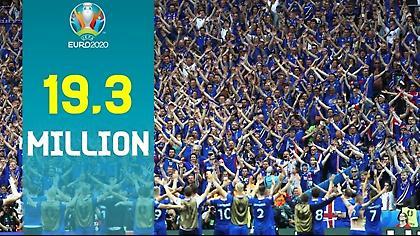 Ρεκόρ από την UEFA: 19,3 εκατ. αιτήσεις για εισιτήρια στο Euro 2020