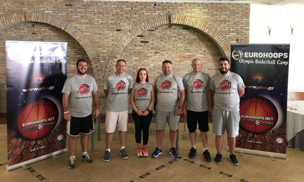 O Μάκης Γιατράς στο Eurohoops Olympia Basketball Camp!
