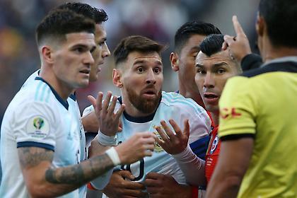 Έφεση για την κόκκινη του Μέσι η Αργεντινή