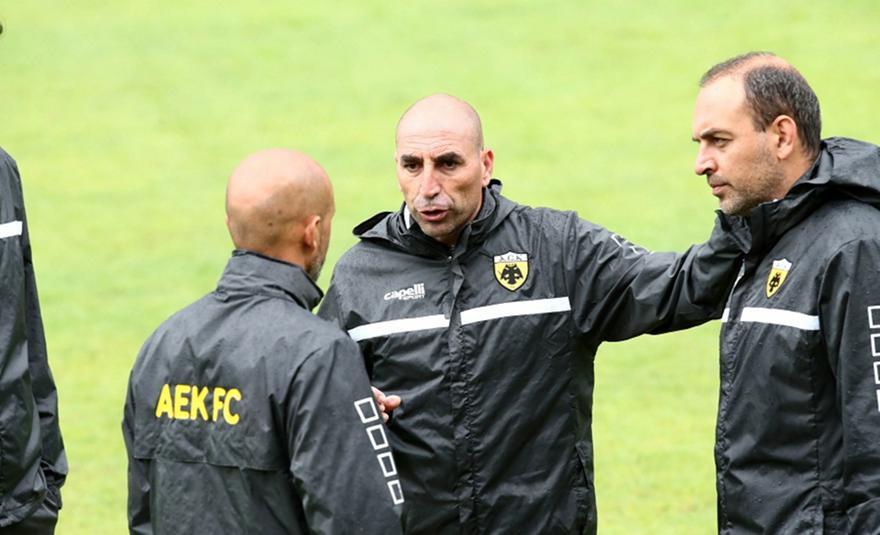Μπατίστα: «Θέλουμε να παίξουμε διαφορετικά από ό,τι έχουν συνηθίσει οι παίκτες της ΑΕΚ»
