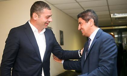 Λάκοβιτς σε Αυγενάκη: «Θετικό ότι δεν υποστηρίζετε κάποια από τις μεγάλες ομάδες»!