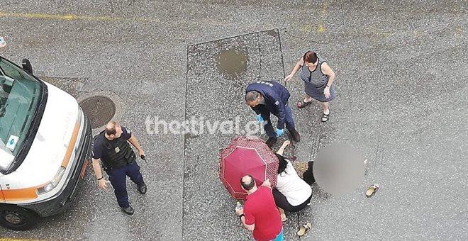 Επίθεση με τσεκούρι στην Θεσσαλονίκη, σε σοβαρή κατάσταση το θύμα