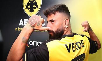 Ανακοίνωσε Βέρντε η ΑΕΚ: «Καλωσόρισες στην οικογένεια μας»