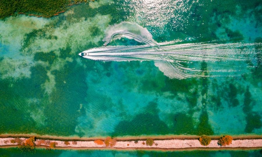 Μεσογειακοί Αγώνες Πάτρας: Στη λίμνη Στράτου θα διεξαχθεί το σλάλομ του θαλάσσιου σκι (pics)
