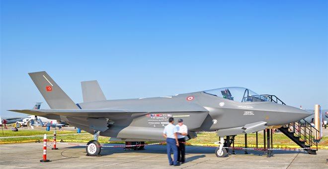 Τεράστια ζημιά σε Τουρκία μετά τον αποκλεισμό της από το πρόγραμμα των F-35