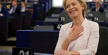 Υπέρ των ανατολικοευρωπαϊκών κρατών η Ούρσουλα φον ντερ Λάιεν