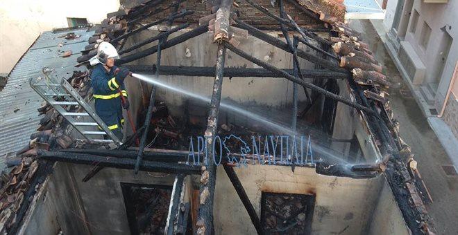 Ηλικιωμένη βρέθηκε νεκρή μετά από φωτιά στο Ναύπλιο