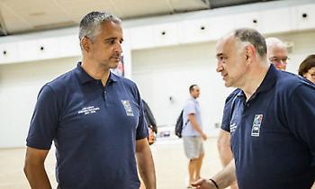 Πέσιτς, Λάσο και Κοκόσκοφ στο σεμινάριο Προπονητών της FIBA