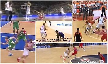Top 5: Βασίλης Σπανούλης, the ankle breaker (videos)