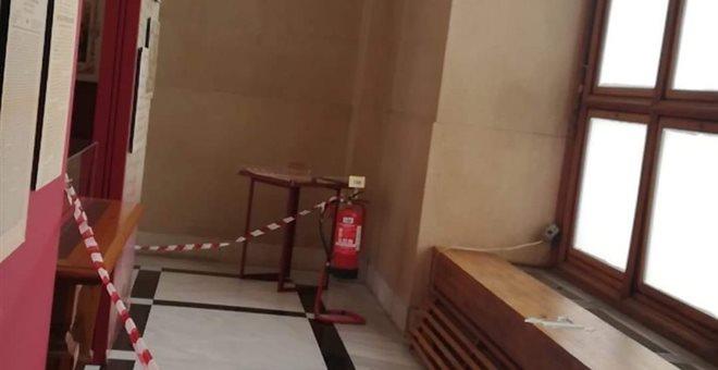 Περιορισμένες ζημιές στη Βουλή από τον σεισμό στην Αττική (pic)