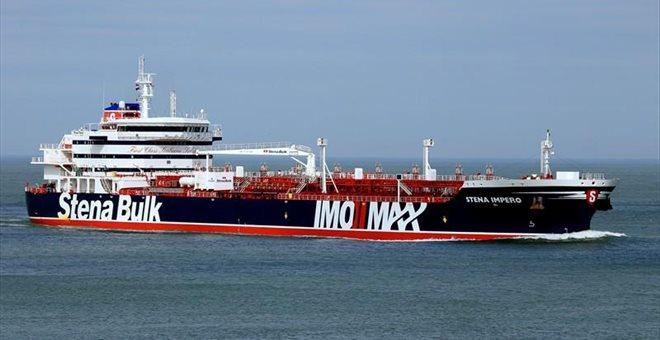 Το Ιράν κατάσχεσε βρετανικό πετρελαιοφόρο στο Στενό του Ορμούζ