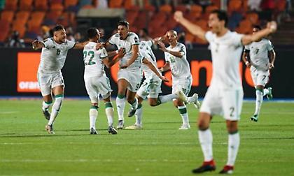 Το σήκωσε η ψυχωμένη Αλγερία! (video)