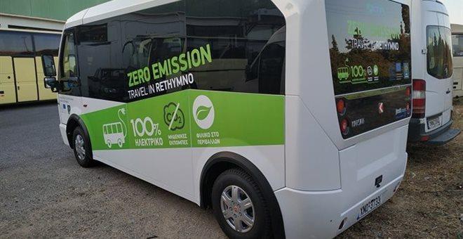 Hλεκτρικό μίνι λεωφορείο για μεταφορά ΑμεΑ αποκτά ο δήμος Χανίων