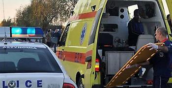Φλώρινα: Δυο άτομα τραυματίστηκαν από σύγκρουση οχήματος με τρένο