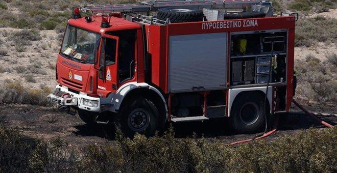 Πυρκαγιά στην περιοχή Νησέλια της Μυτιλήνης