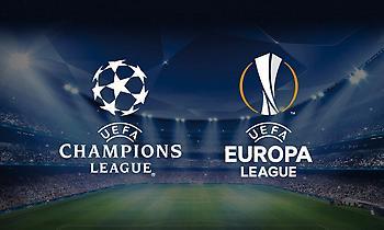 Μαθαίνουν αντιπάλους οι ελληνικές ομάδες σε Champions και Europa League