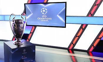 LIVE: Κλήρωση Champions League