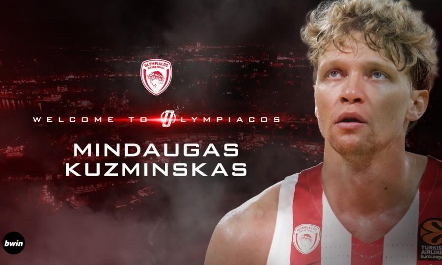 Επίσημο: Στον Ολυμπιακό ο Κουζμίνσκας!