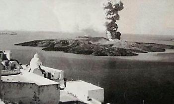 Τέφρα 35.000 χλμ, τσουνάμι 30μ.: Οι εικόνες αποκάλυψης μετά την έκρηξη του ηφαιστείου της Σαντορίνης