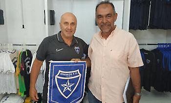 Επισκέφθηκε το γήπεδο του Ιωνικού ο δήμαρχος Νίκαιας-Ρέντη