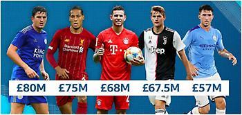 Τι έκαναν οι 5 ακριβότεροι κεντρικοί αμυντικοί της ιστορίας τη σεζόν πριν τη μεταγραφή τους;