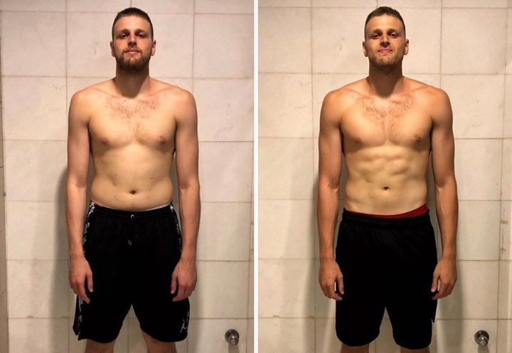 Εντυπωσιακή αλλαγή στο σώμα του Χαραλαμπόπουλου (pic)