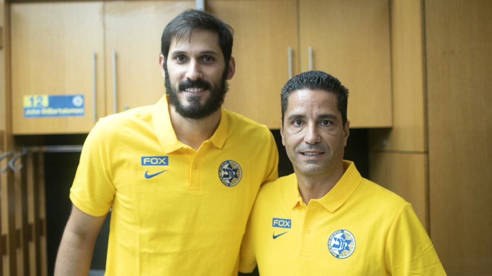 Σφαιρόπουλος: «Πήραμε τον καλύτερο Ισραηλινό παίκτη»