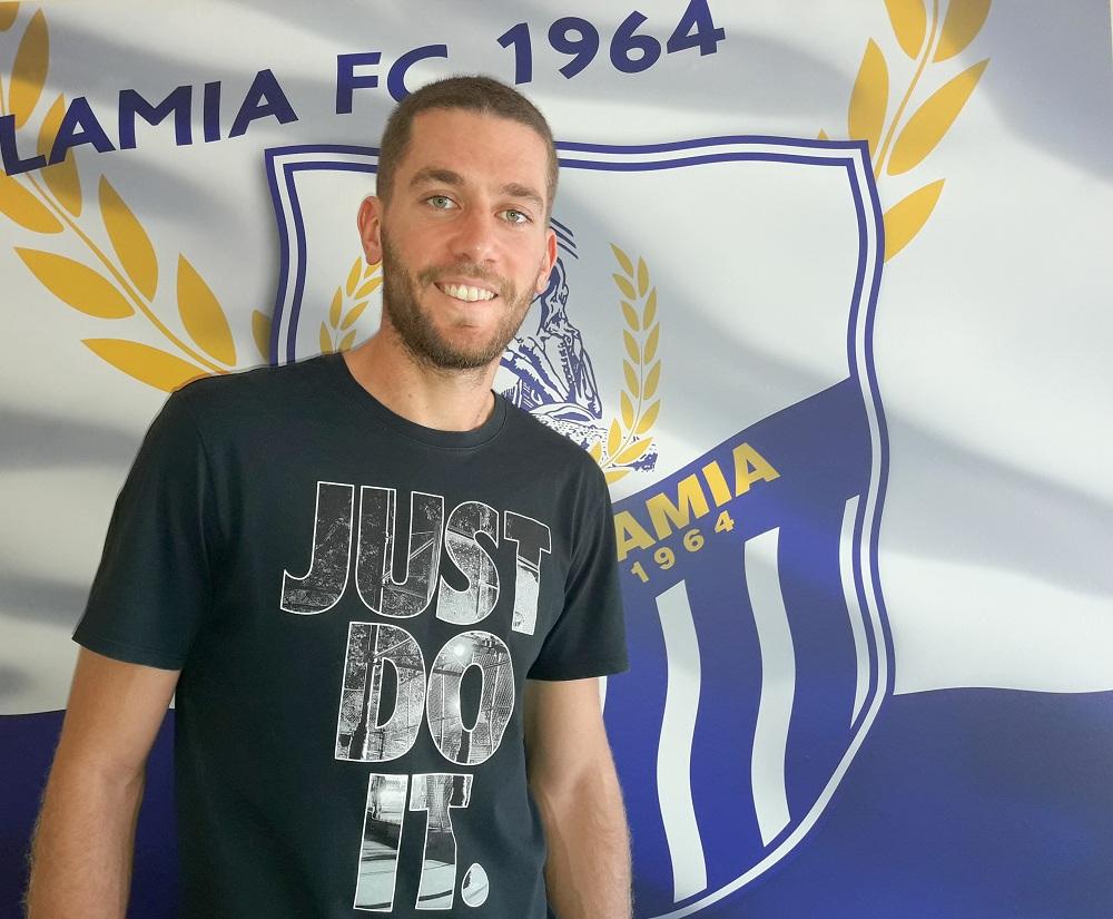 Τζανετόπουλος: «Χαρούμενος που θα συνεχίσω στη Λαμία»