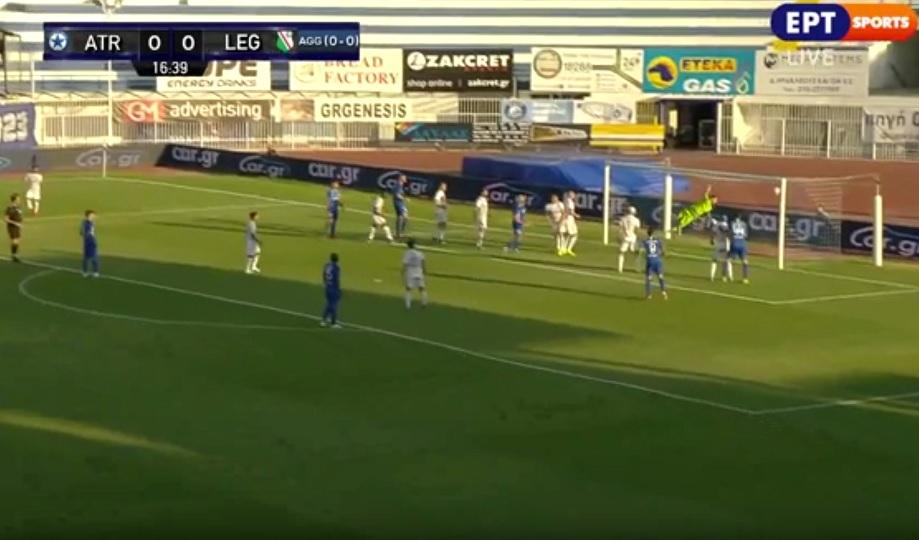 Άγγιξε το γκολ ο Ατρόμητος, δοκάρι ο Ρόσα (video)