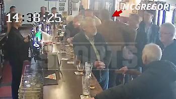 Ο ΜακΓκρέγκορ γρονθοκόπησε ηλικιωμένο σε παμπ (video)