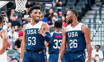 Team USA: Με… μισή ομάδα θέλει να γράψει ιστορία στο Παγκόσμιο!