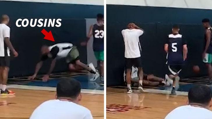 Η φάση του σοβαρού τραυματισμού του Κάζινς (video)