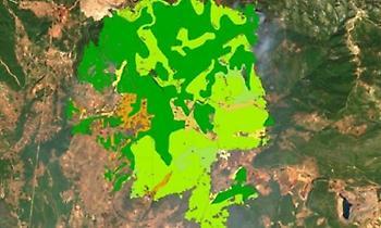 Τι κάηκε στην Εύβοια: Χάρτης με τις χρήσεις γης