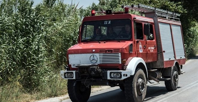 Κρήτη: Πυρκαγιά στην περιοχή Μύρτος Ιεράπετρας