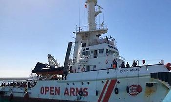 Δεν είναι σε θέση να αποβιβαστούν στην Ισπανία οι μετανάστες του Open Arms