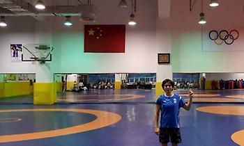 Στην Κίνα για προετοιμασία η Πρεβολαράκη