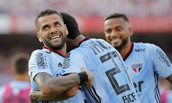 Γκολ νίκης στο ντεμπούτο του με Σάο Πάουλο ο Ντάνι Άλβες (video)