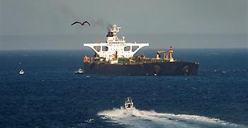 Προς την Ελλάδα από το Γιβραλτάρ κατευθύνεται το ιρανικό τάνκερ (video)