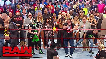 Στα παρασκήνια του Raw Reunion