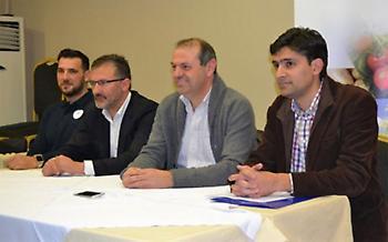 Ριζούλης: «Ημέρα χαράς για τη Λάρισα,να δουλέψουμε για μια ανταγωνιστική ομάδα στην Α1»