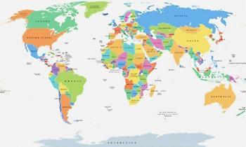 8/10 ρεκόρ: Σου δίνουμε τη χώρα, μπορείς να βρεις σε ποια ήπειρο βρίσκεται;