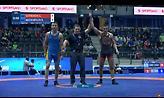 Δύο πλασαρίσματα στους «8» στο Παγκόσμιο Πρωτάθλημα πάλης Εφήβων