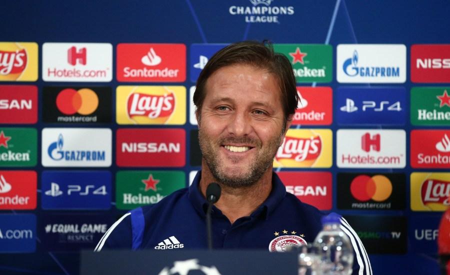 Μαρτίνς: «Εξαρτάται το μέλλον μας απ' αυτά τα ματς, νίκη με μηδέν παθητικό το καλύτερο αποτέλεσμα»