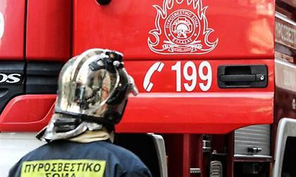 Πυρκαγιά σε ορνιθοτροφείο στην περιοχή Κατρί στην Εύβοια